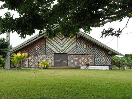 The Chiefs' Nakamal in Port Vila, Vanuatu - the scene of closed-door meetings.